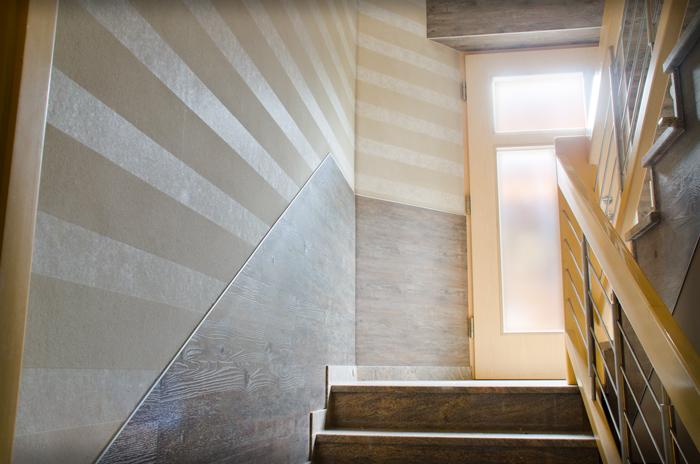 Wandverkleidung Treppenhaus ~ Kreative Deko-Ideen und ...